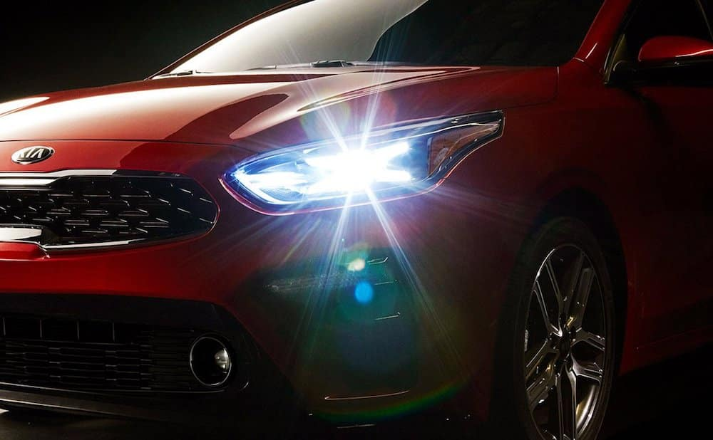 2019 Forte LED Headlight