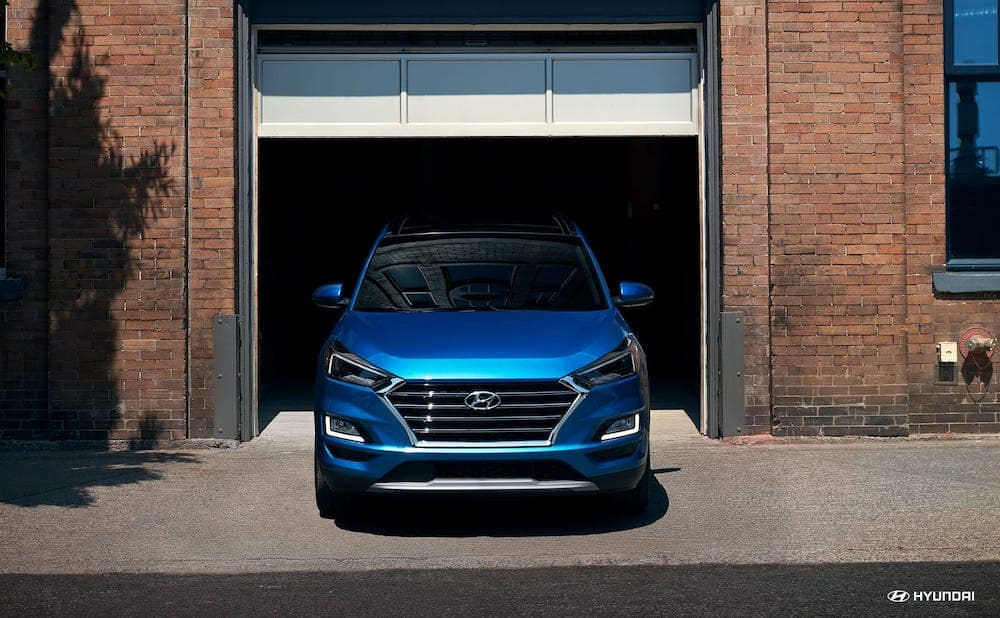 2019 Hyundai Santa Fe grille