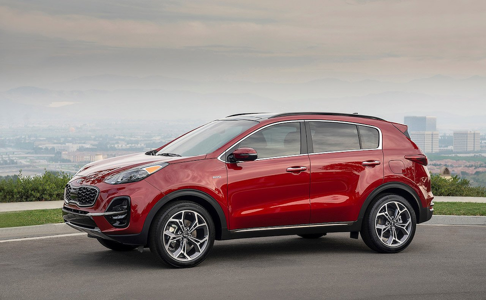 2020 Kia Sportage from the side