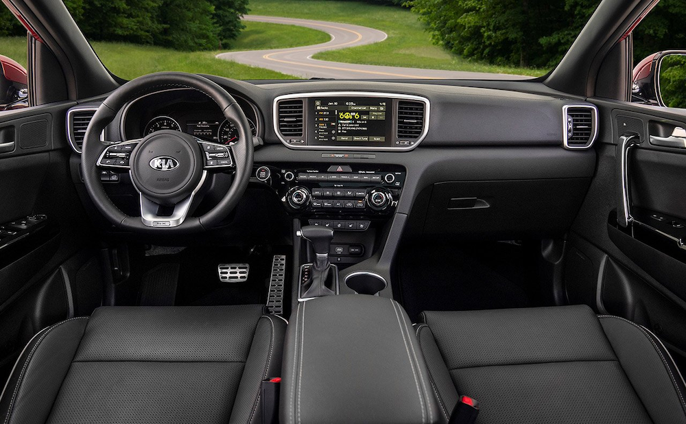 2020 Sportage dashboard