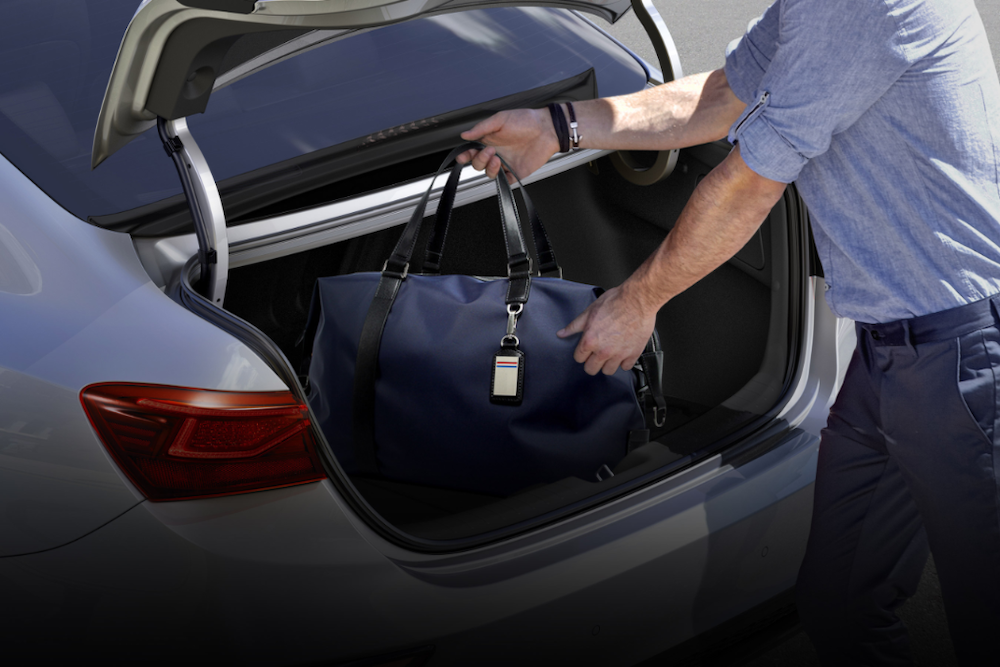 2020 Forte trunk