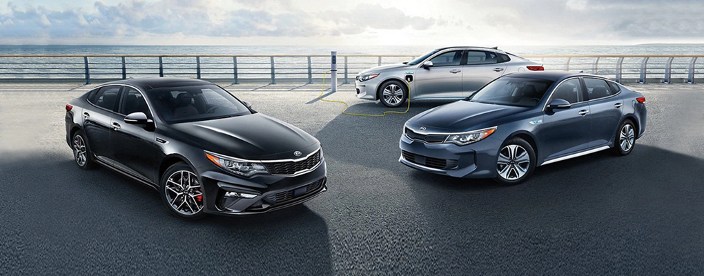 2020 Kia Optima models