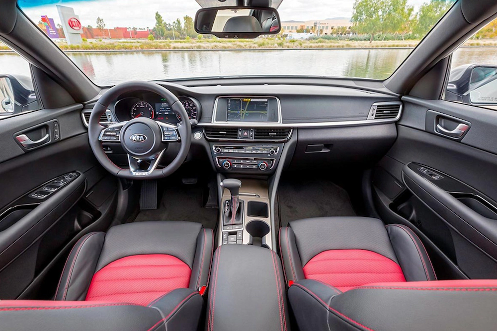 2020 Optima interior dash