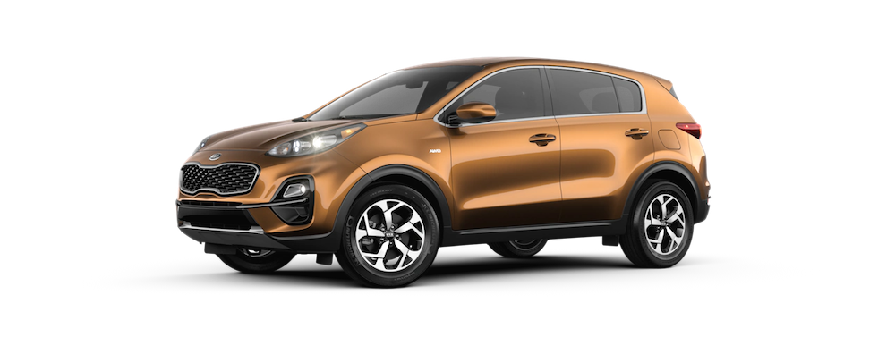 2020 Sportage in Burnished Copper