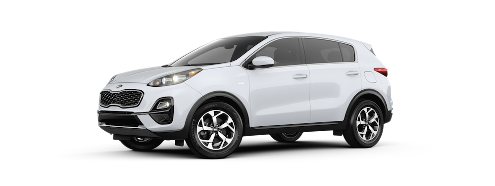 2020 Sportage in Clear White