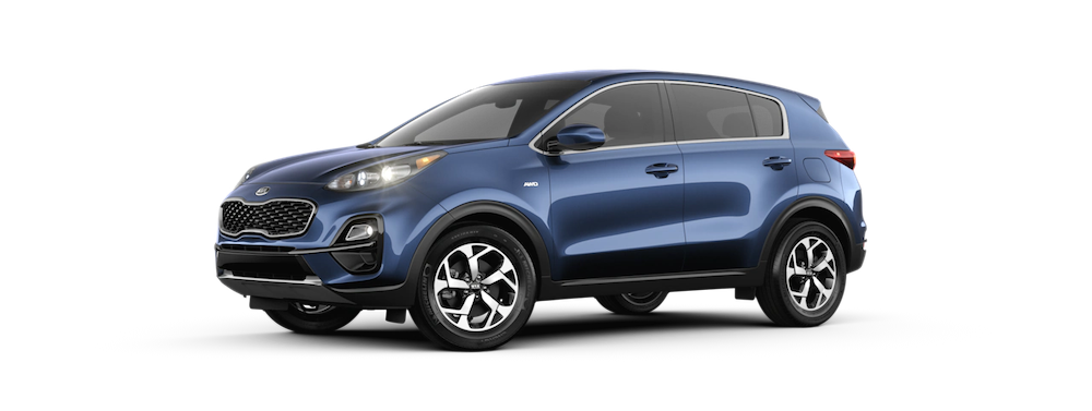 2020 Sportage in Pacific Blue