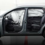2020 Kia Sorento with deployed airbags
