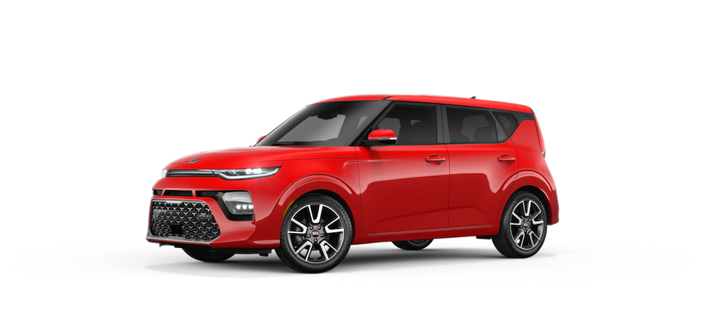 2021 Kia Soul in Inferno Red