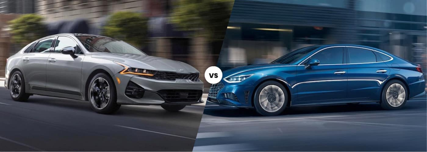 2021 Kia K5 vs 2021 Hyundai Sonata