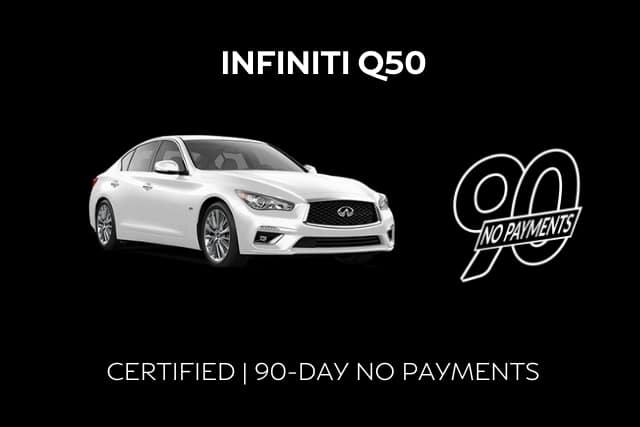 Certified INFINITI Q50