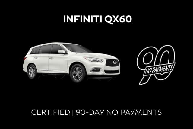 Certified INFINITI QX60