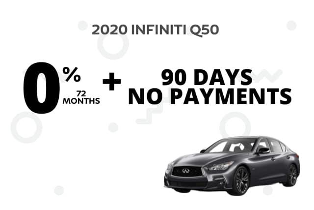 New 2020 INFINITI Q50 AWD