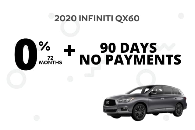 New 2020 INFINITI QX60 AWD