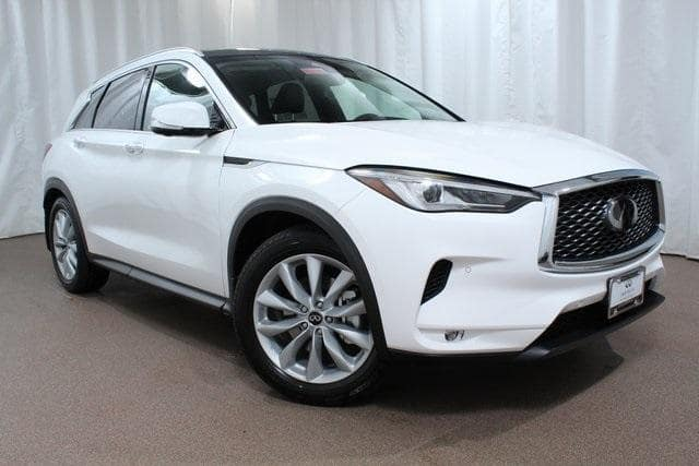 2019 INFINITI QX50 with driver assistance features