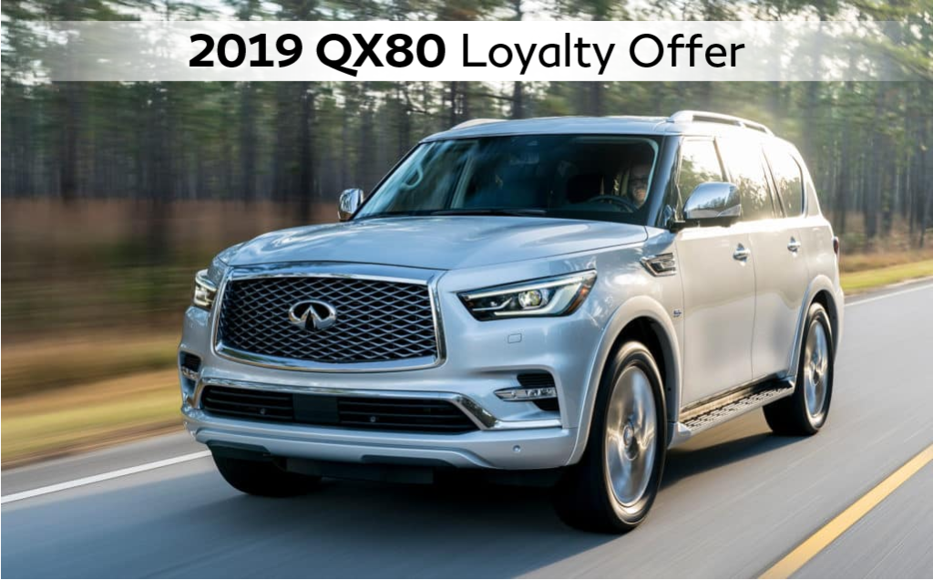 2019 QX80 Owner Loyalty Offer