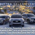 Red Noland INFINITI Winter Conquest Offer