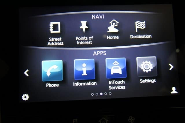 2019 INFINITI Q50 InTouch System