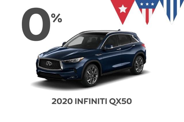 New 2020 INFINITI QX50 AWD
