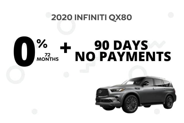 New 2020 INFINITI QX80 4WD