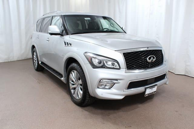 Gently used 2017 INFINITI QX80