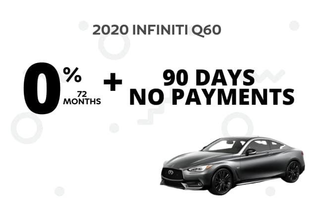 New 2020 INFINITI Q60 AWD