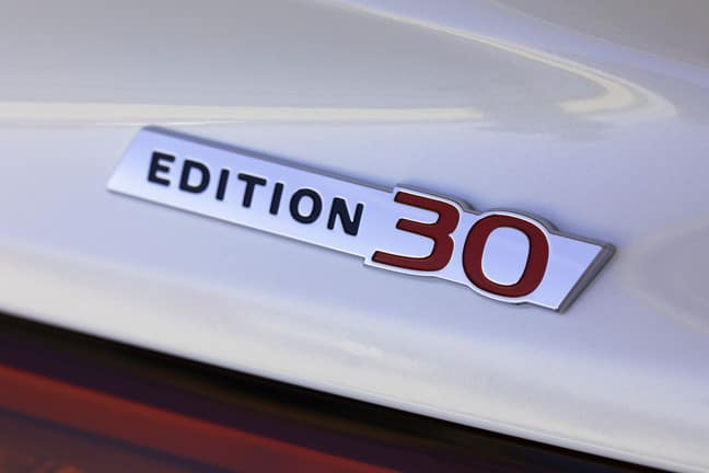 INFINITI EDITION 30 coming soon