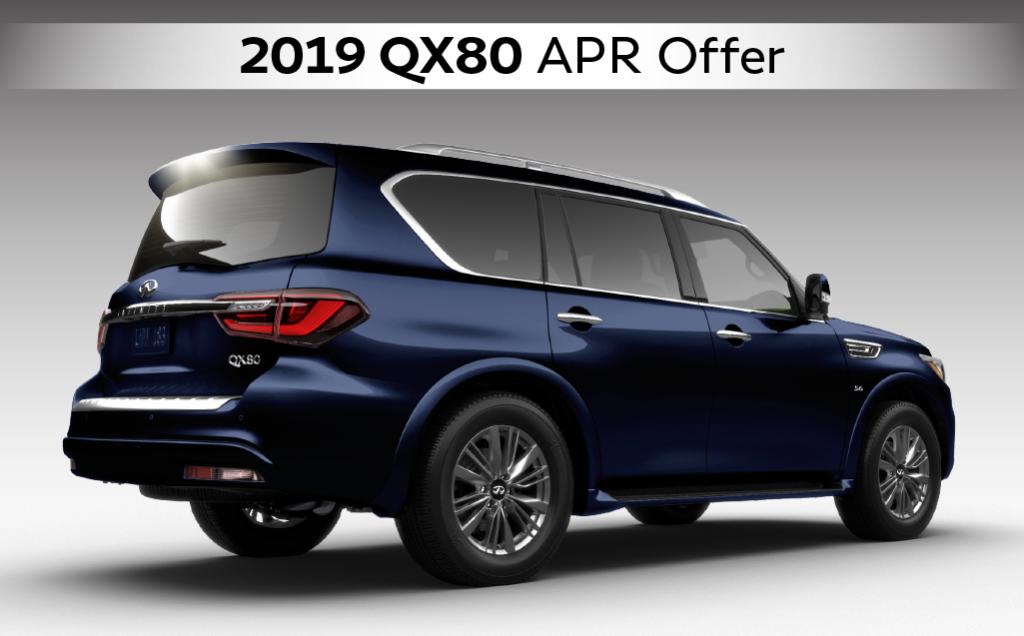 2019 INFINITI QX80 APR Offer