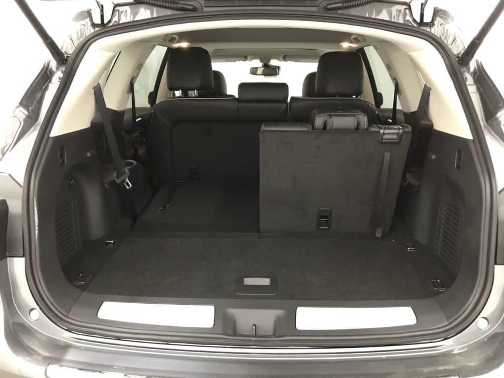 2020 INFINITI QX60 spacious interior