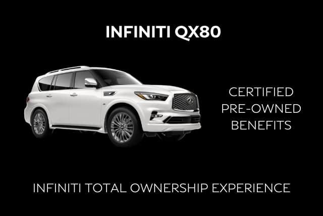 Certified INFINITI QX80