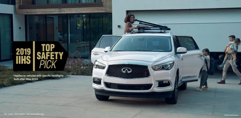 NFINITI QX60 has super safety features