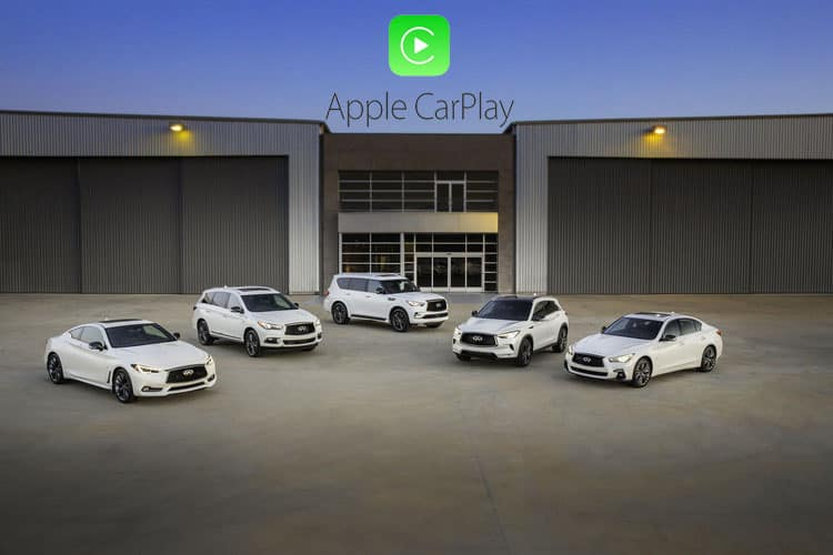 Applr Car Play in INFINITI vehicles