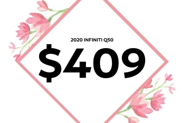 New 2020 INFINITI Q50 3.0t LUXE AWD