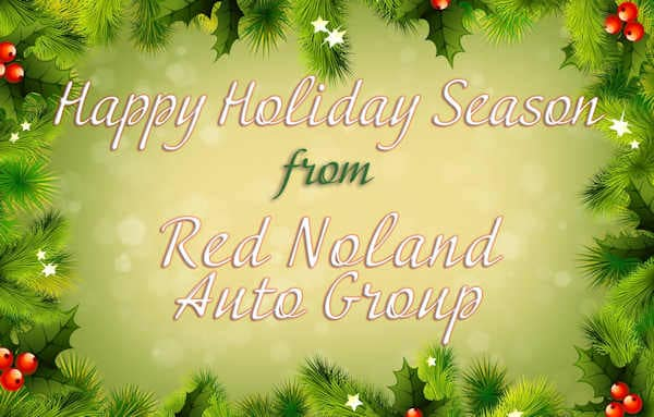 Red Noland INFINITI Holiday Hours
