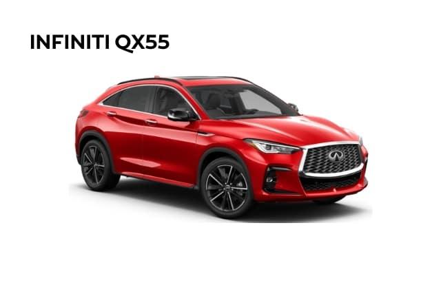 New 2022 INFINITI QX55