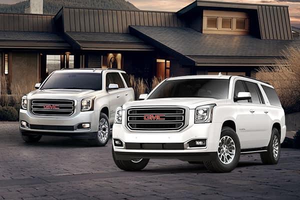 2018 GMC Yukon & Yukon XL 3 Row SUVs
