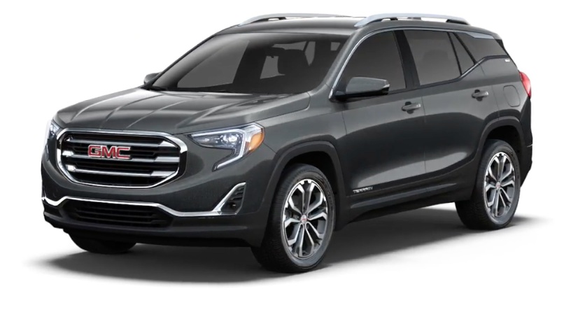 Gray 2019 GMC Terrain