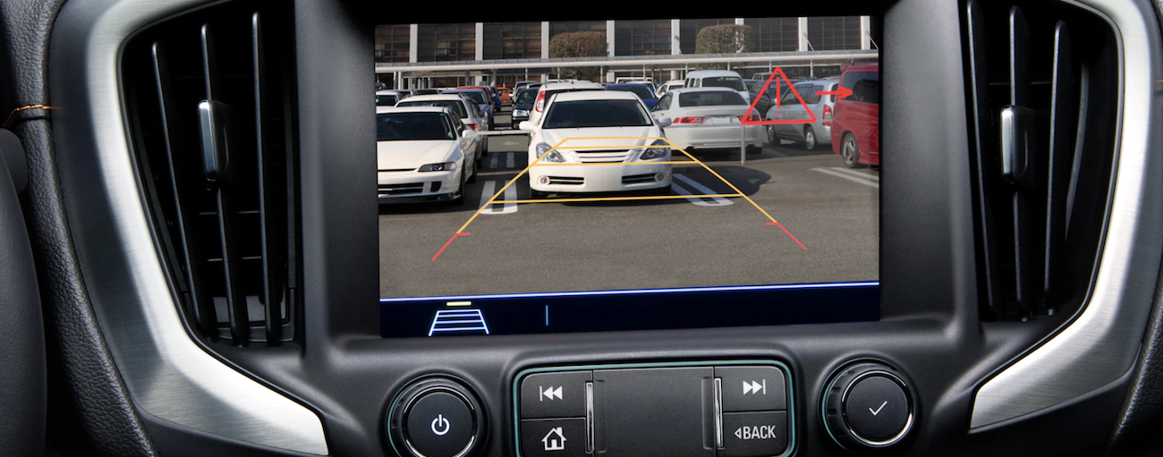 Touchscreen and back up camera on 2019 GMC Terrain