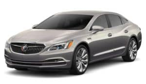 A pepperdust/gold 2019 Buick LaCrosse on white