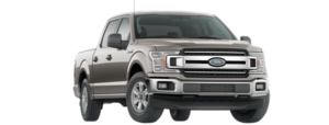 A brown 2019 Ford F-150 in a shootout between the 20198 GMC Sierra 1500 vs 2019 Ford F-150