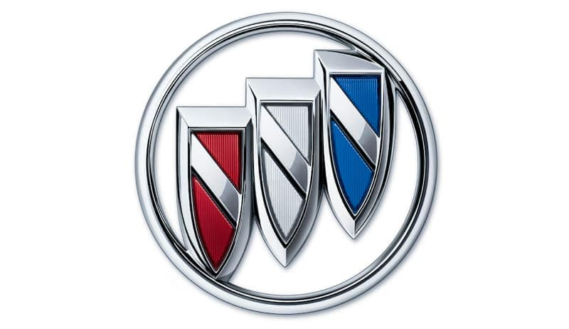A Buick Emblem is shown on a blank background.