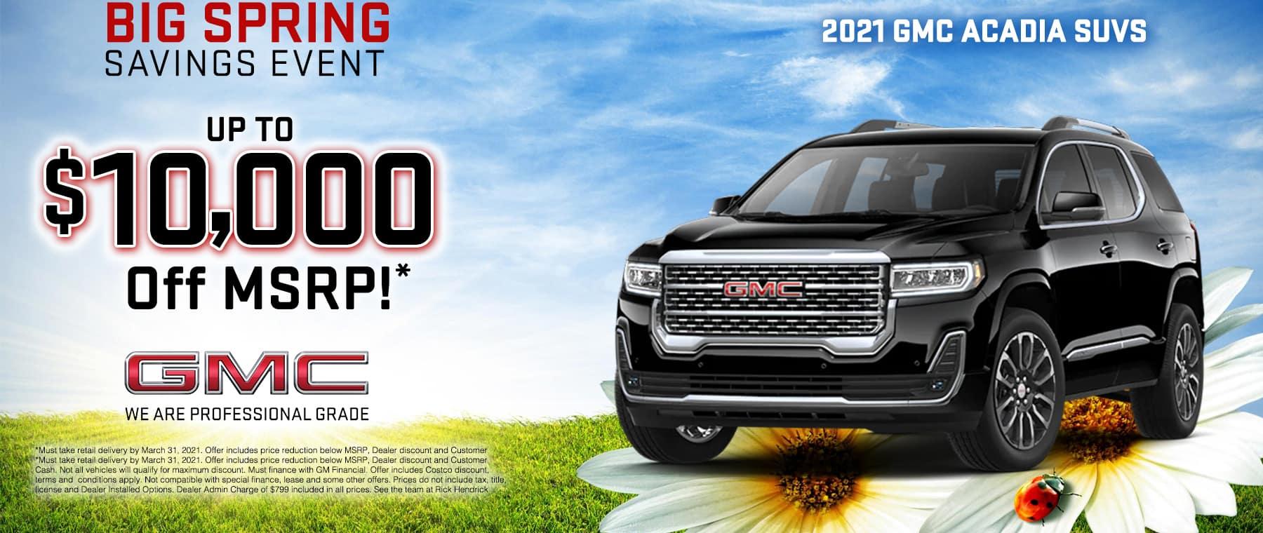 RH Buick GMC Duluth-Mar21_TR_New Incentives 1800X760_0003_acadia