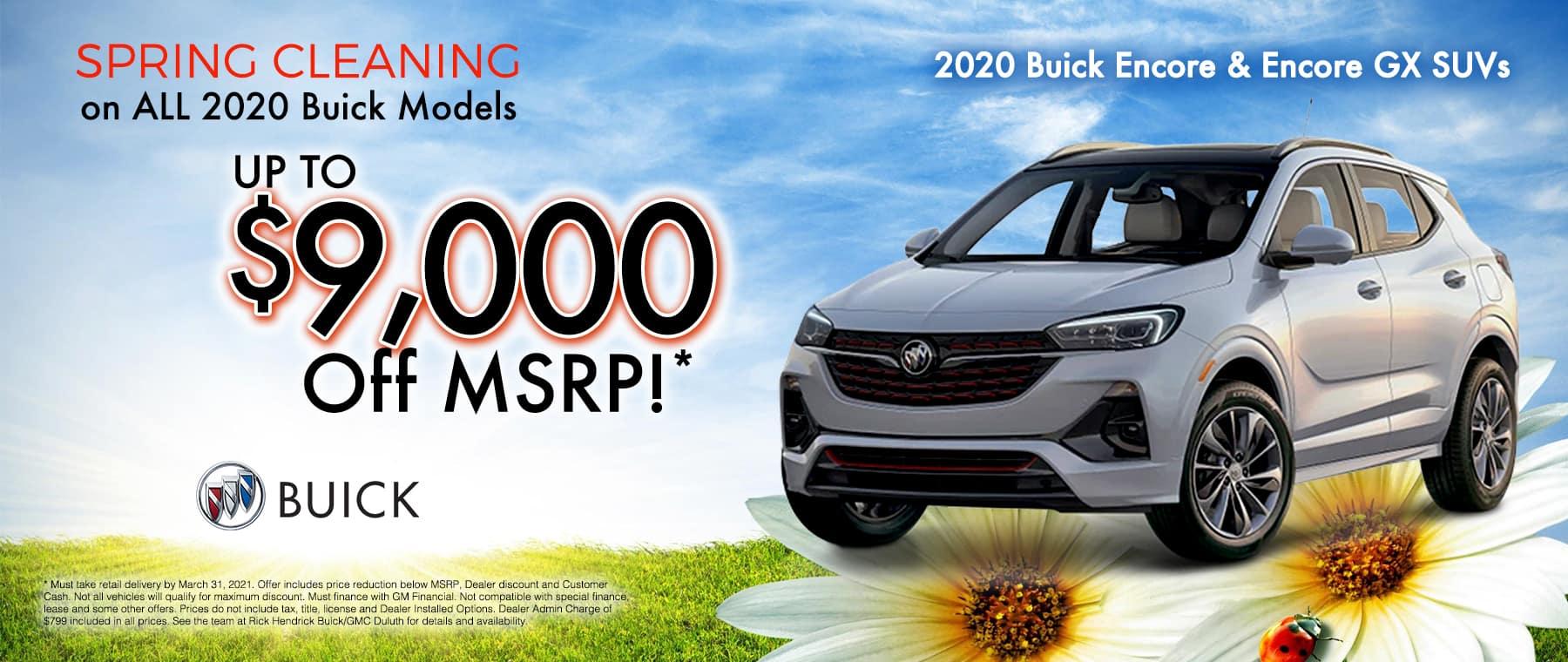 RH Buick GMC Duluth-Mar21_TR_New Incentives 1800X760_0006_Encore