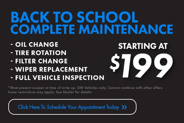 Back to School Complete Maintenance