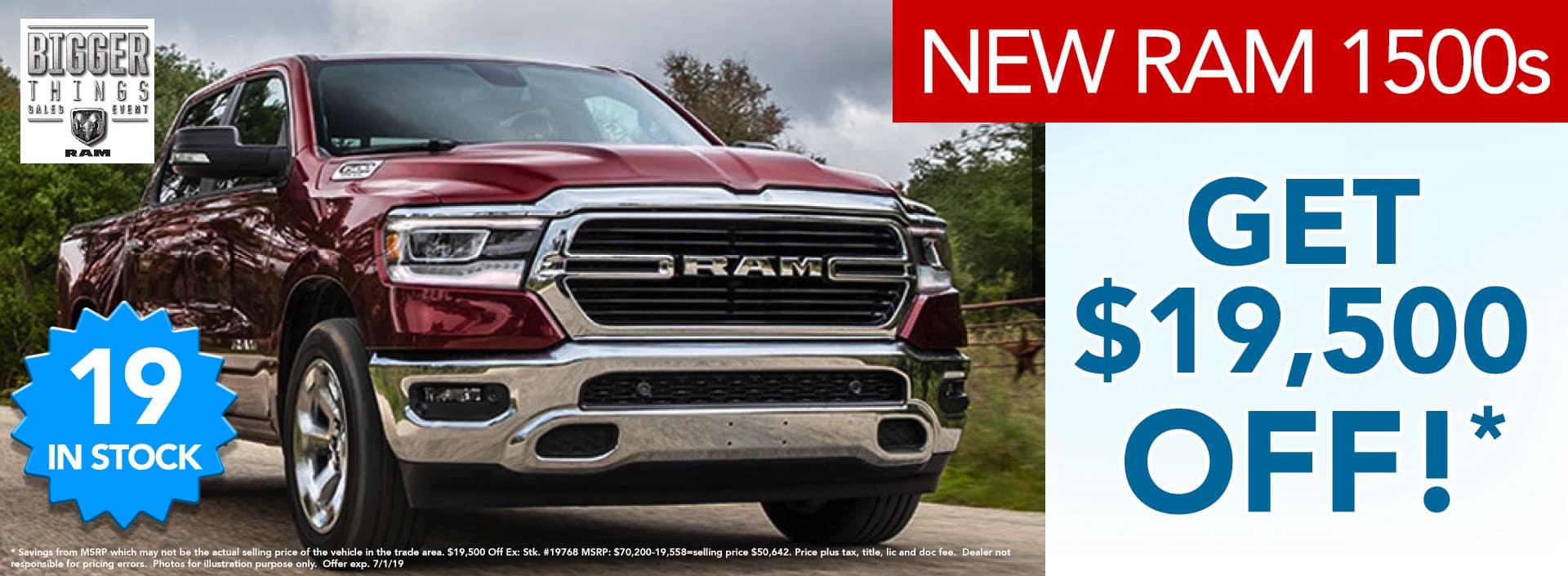 ram 1500 new