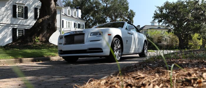 Rolls-Royce Motor Cars Dawn Drophead Coupé on Sullivan's Island, South Carolina