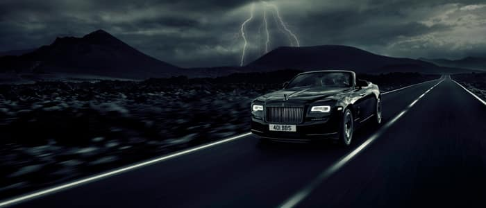 Rolls-Royce Motor Cars Dawn Black Badge Drophead Coupé in Charleston SC