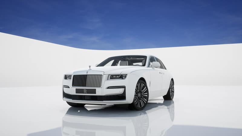 Commission your 2021 Rolls-Royce Motor Cars GHOST Pure from Rolls-Royce Motor Cars Charleston
