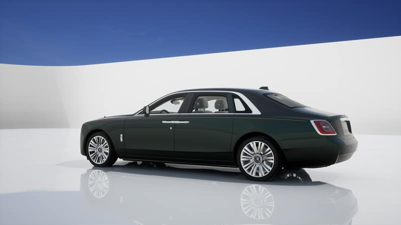 Commission your 2021 Rolls-Royce Motor Cars GHOST Extended Shadow from Rolls-Royce Motor Cars Charleston