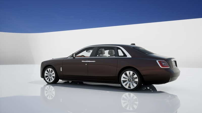 Commission your 2021 Rolls-Royce Motor Cars GHOST Extended Solar from Rolls-Royce Motor Cars Charleston