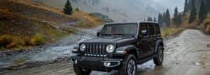 Jeep Wrangler nature